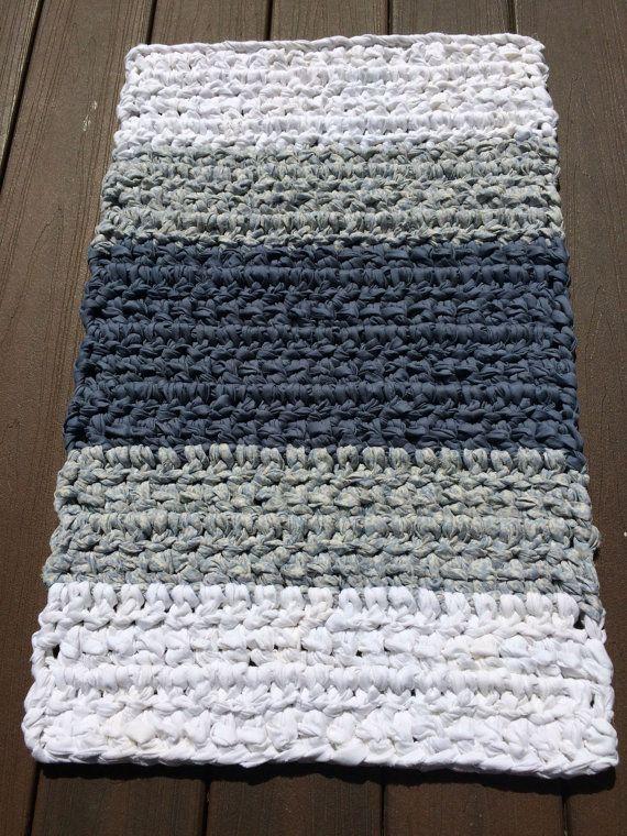 Rectangular Rag Rug Crochet