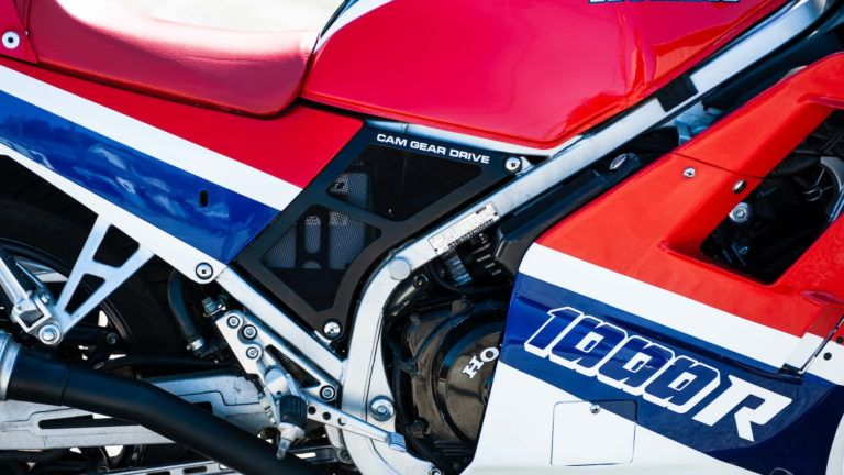 The Honda VF1000R - The Fastest Production Motorcycle In The World (In 1984)