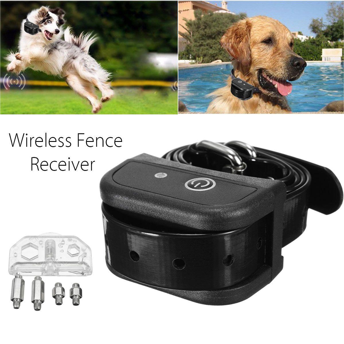 Wireless Dog Fence Collar Waterproof Receiver Training