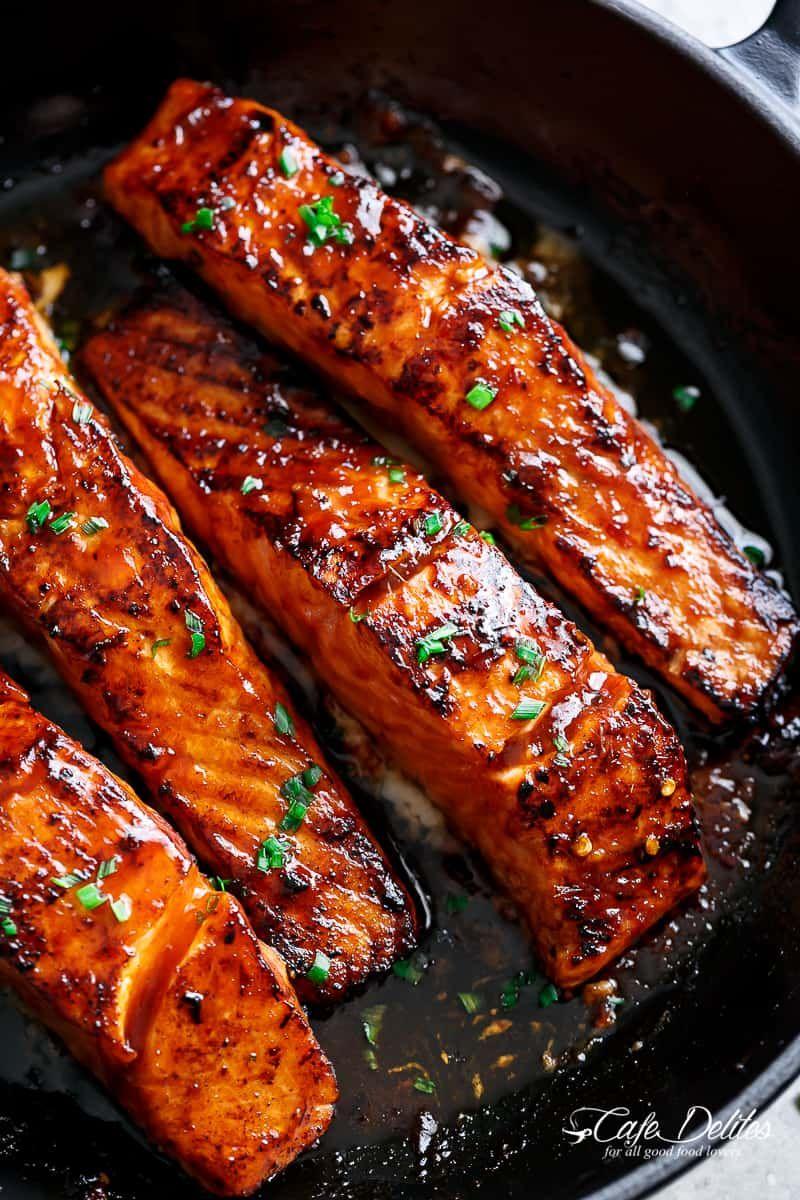Firecracker Salmon Recipe - Cafe Delites