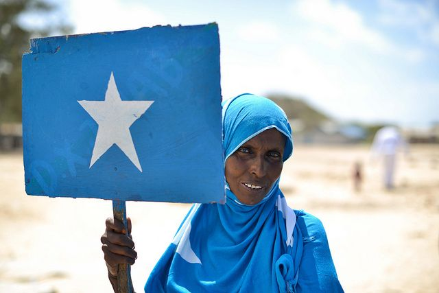 Amisom Well Donation Somali African Union Muslim Women
