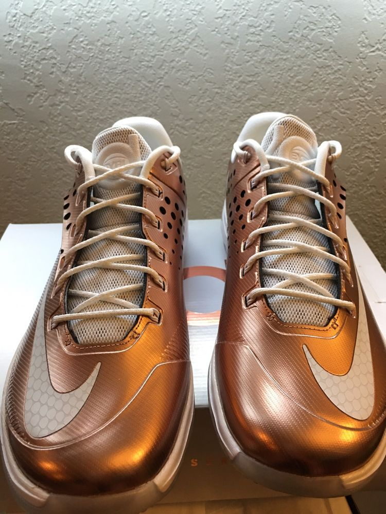 save off d294e a05ac Details about Nike KD 7 VII EYBL Copper Size 11.5. 800514 ...