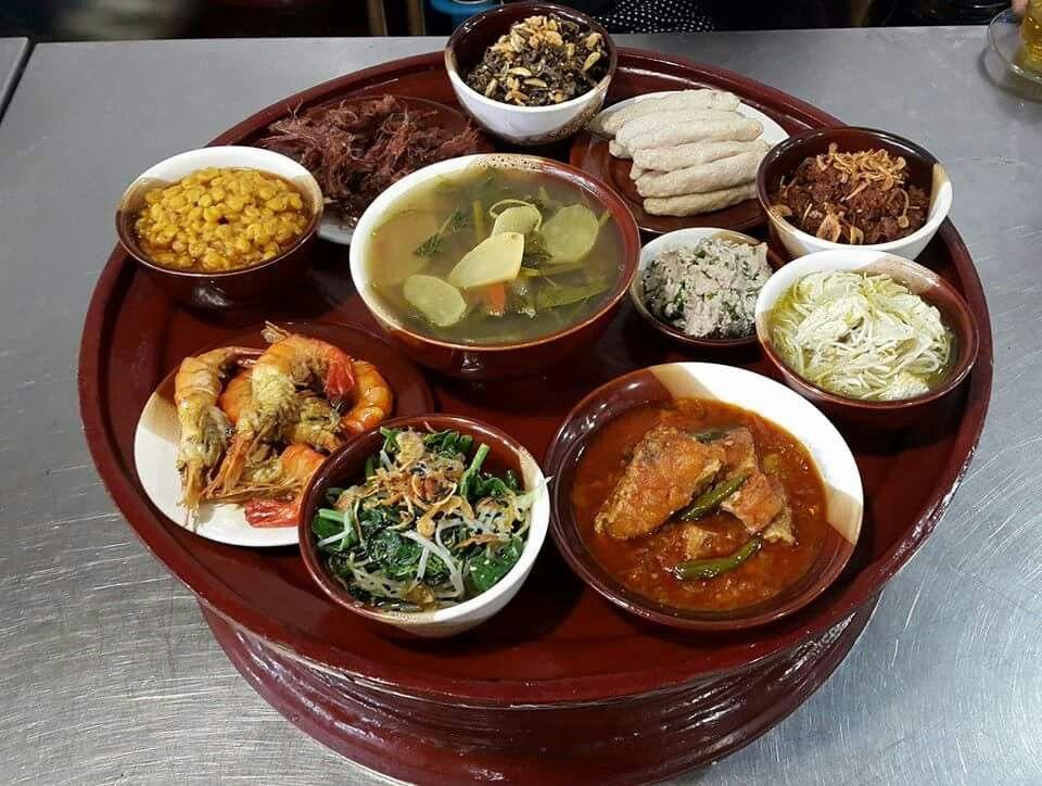 Burmese typical food Burmese food, Food, Traditional food