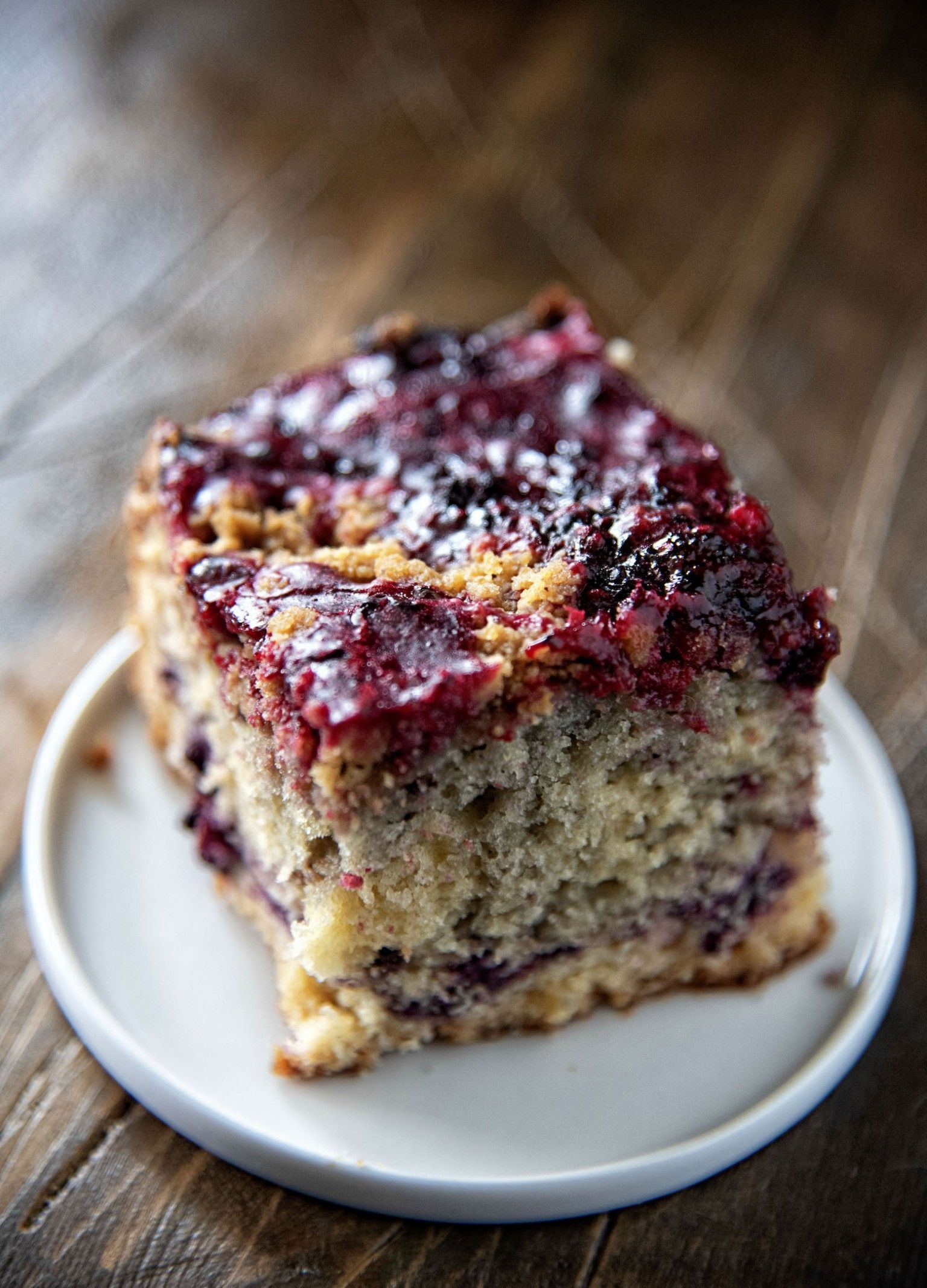 Blackberry Brown Butter Crumb Coffee Cake Coffee cake