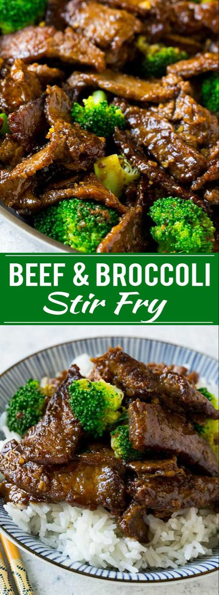 Beef and Broccoli Stir Fry - Dinner at the Zoo