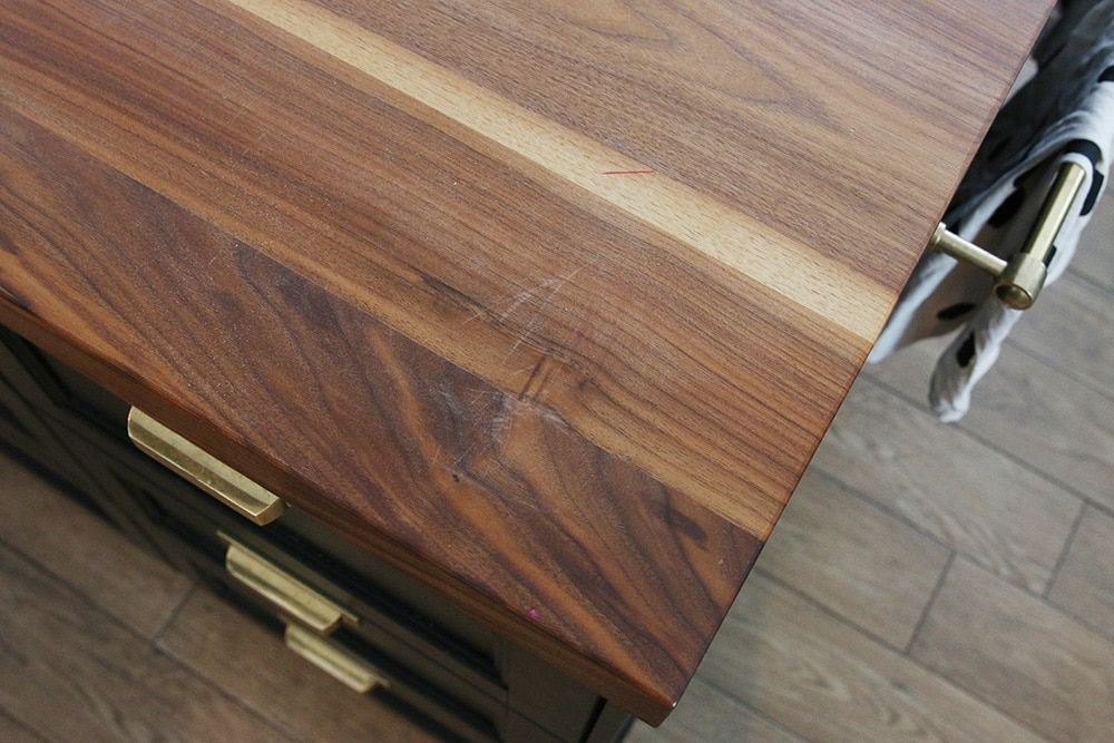 How We Refinished Our Butcher Block Countertop Butcher Block