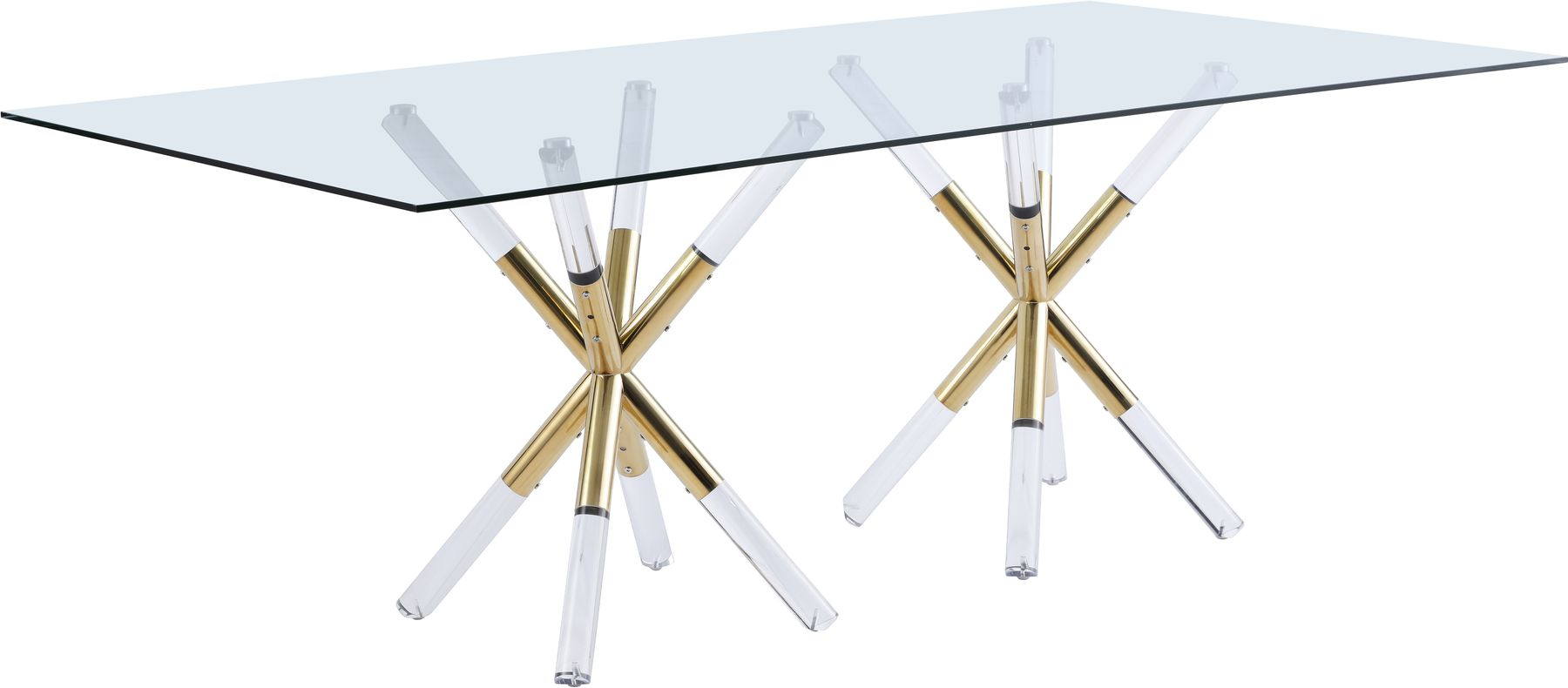Mercury Rt Table In 2020 Glass Top Dining Table Metal Base