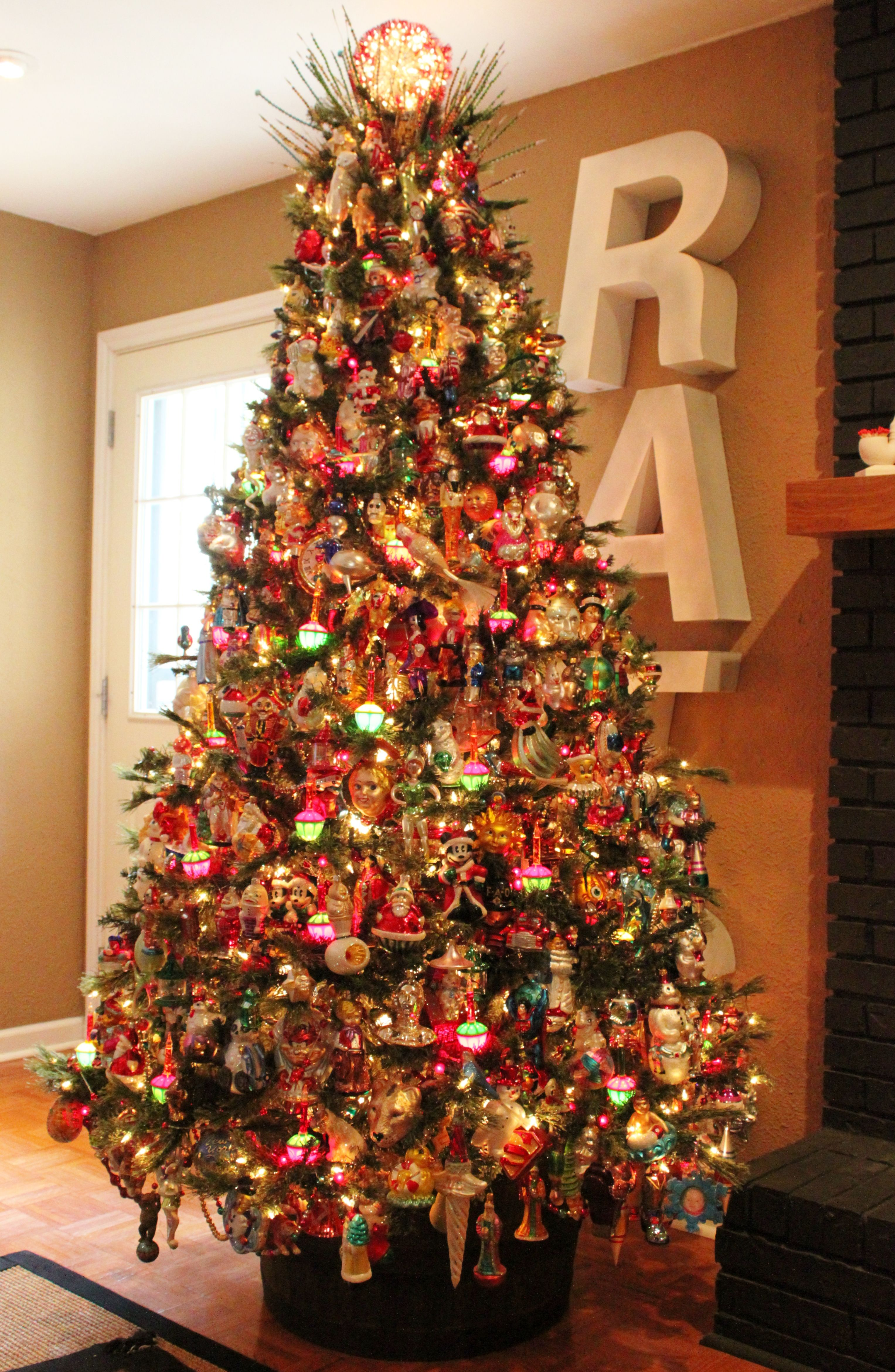 Every Collection Has A Beginning Christmas Tree Christmas Decorations Retro Christmas Decorations