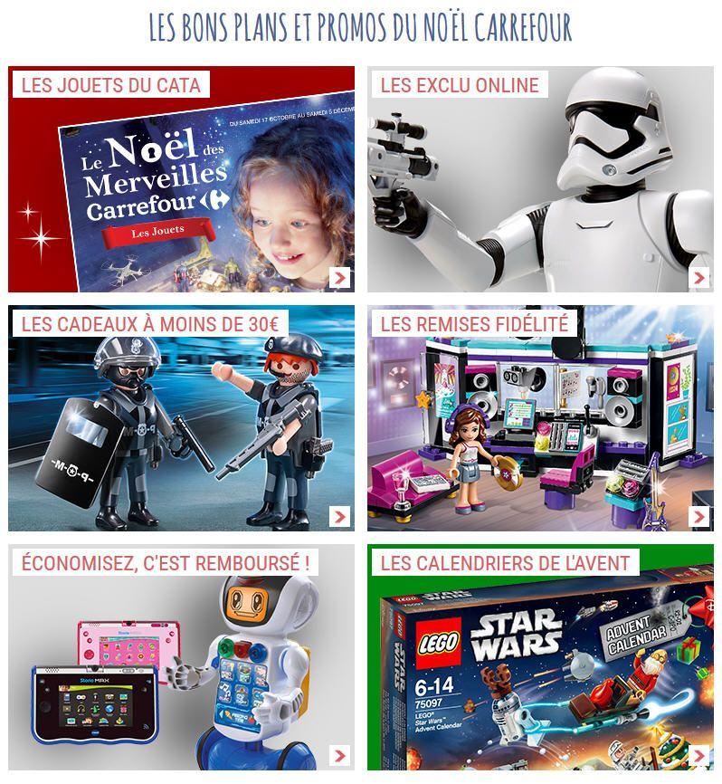 Calendrier De L Avent Lego Star Wars Carrefour.Jouets Pas Cher Carrefour Les Bons Plans Et Promos Du Noel