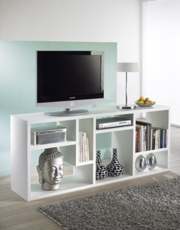 Scandinavia Furniture Metairie New Orleans Louisiana Offers Contemporary U0026  Modern Furniture For Your Living Room   TVILUM SCANBIRK   FLEXO WHITE  TV/AUDIO ...