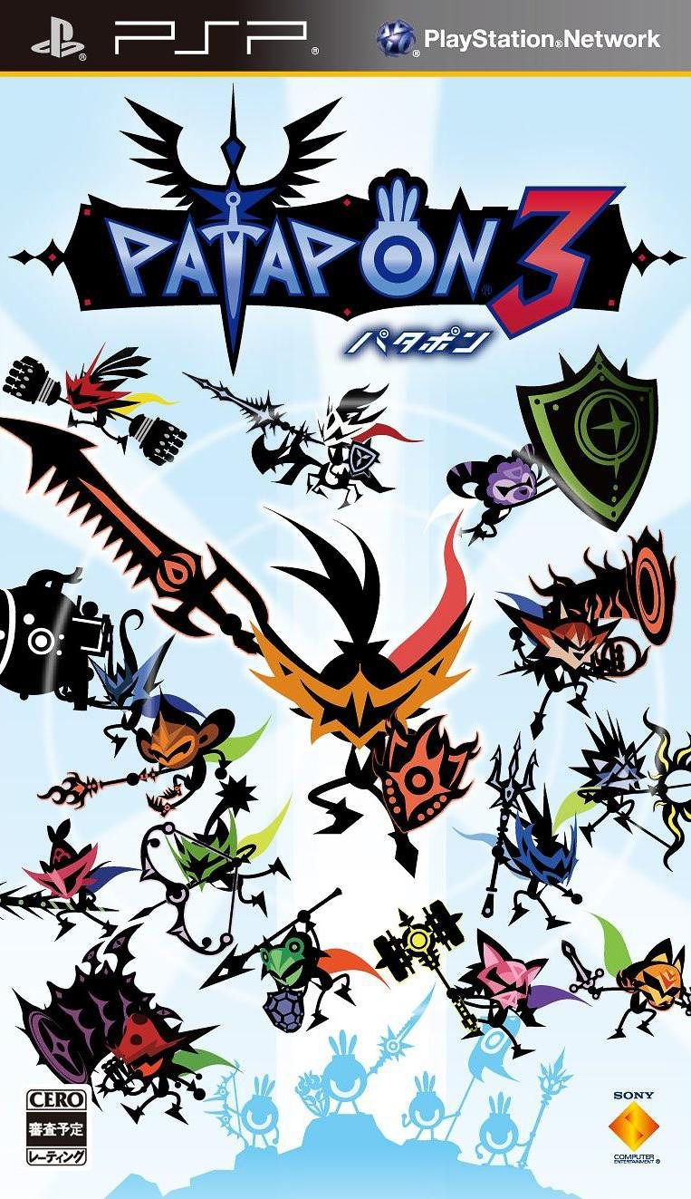 Download Patapon 3 Psp Iso Psp Games Playstation Games