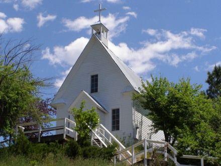 """St. Joseph""""s Catholic Church - Idaho City, Idaho"""