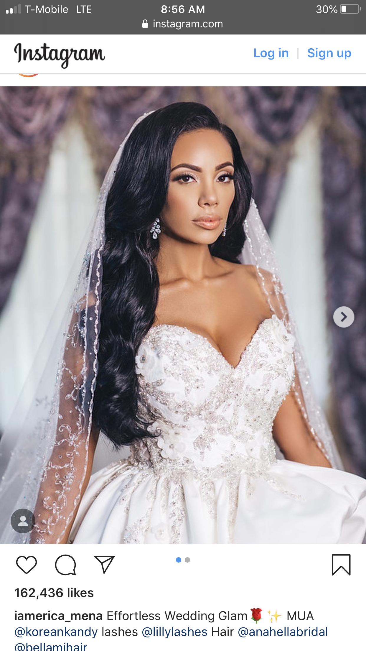 Pin By Andrea Estrada On Big Day In 2020 Bella Naija Weddings Glam Wedding Wedding Dresses