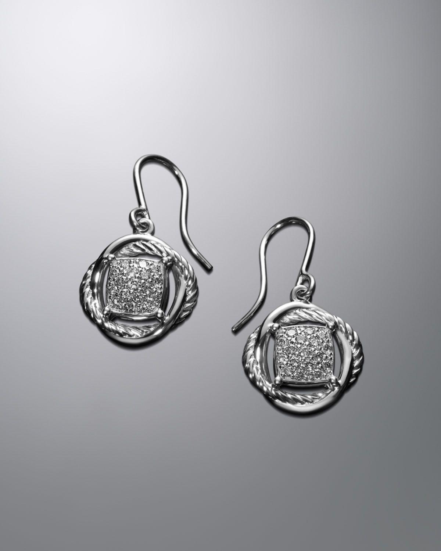 Http Harrislove David Yurman 7mm Pave Diamond Infinity Drop Earrings P 3829 Html