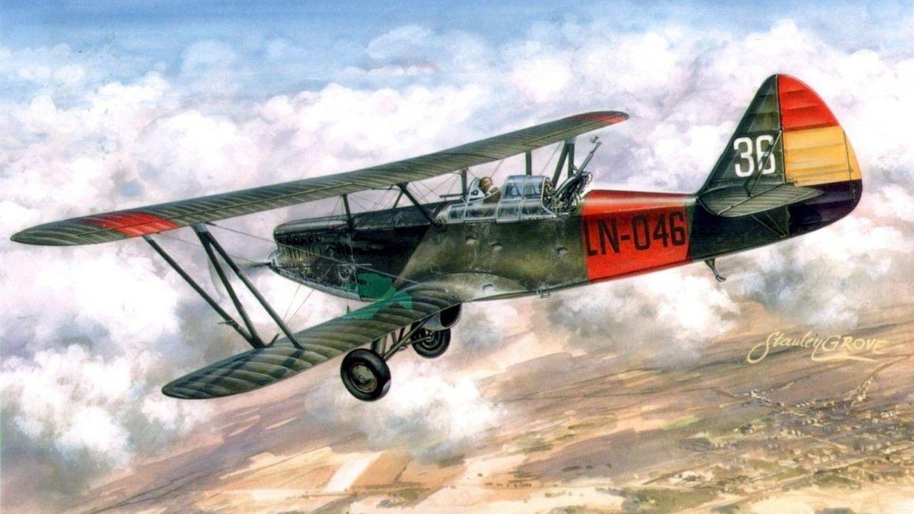 Polikarpov RZ Natacha 1937 Airscrew Aircraft