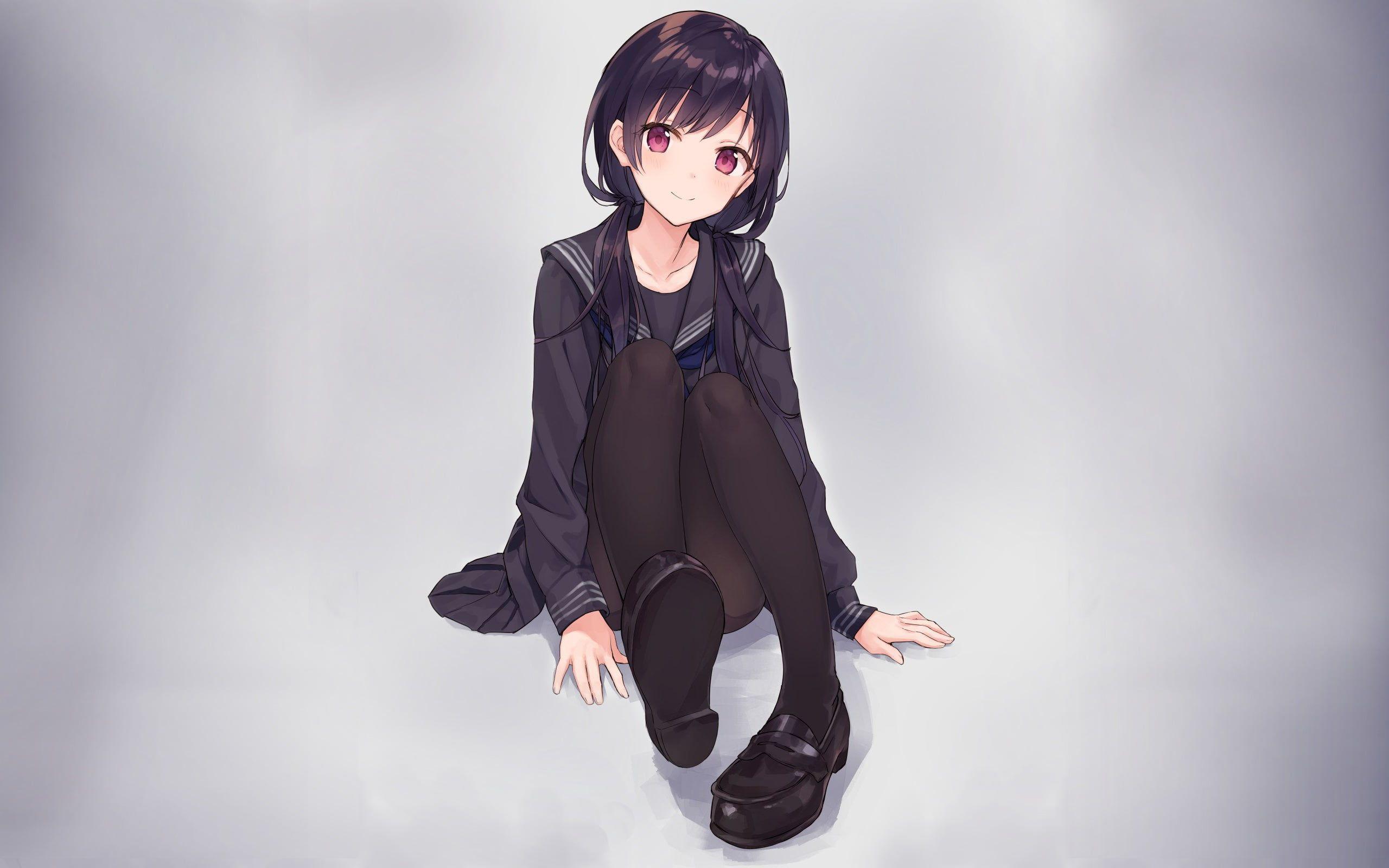 Pin On Anime High Quality Anime wallpaper black hair