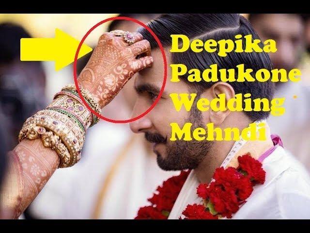 Deepika Padukone Wedding-Deepika Padukone wedding Mehndi ...