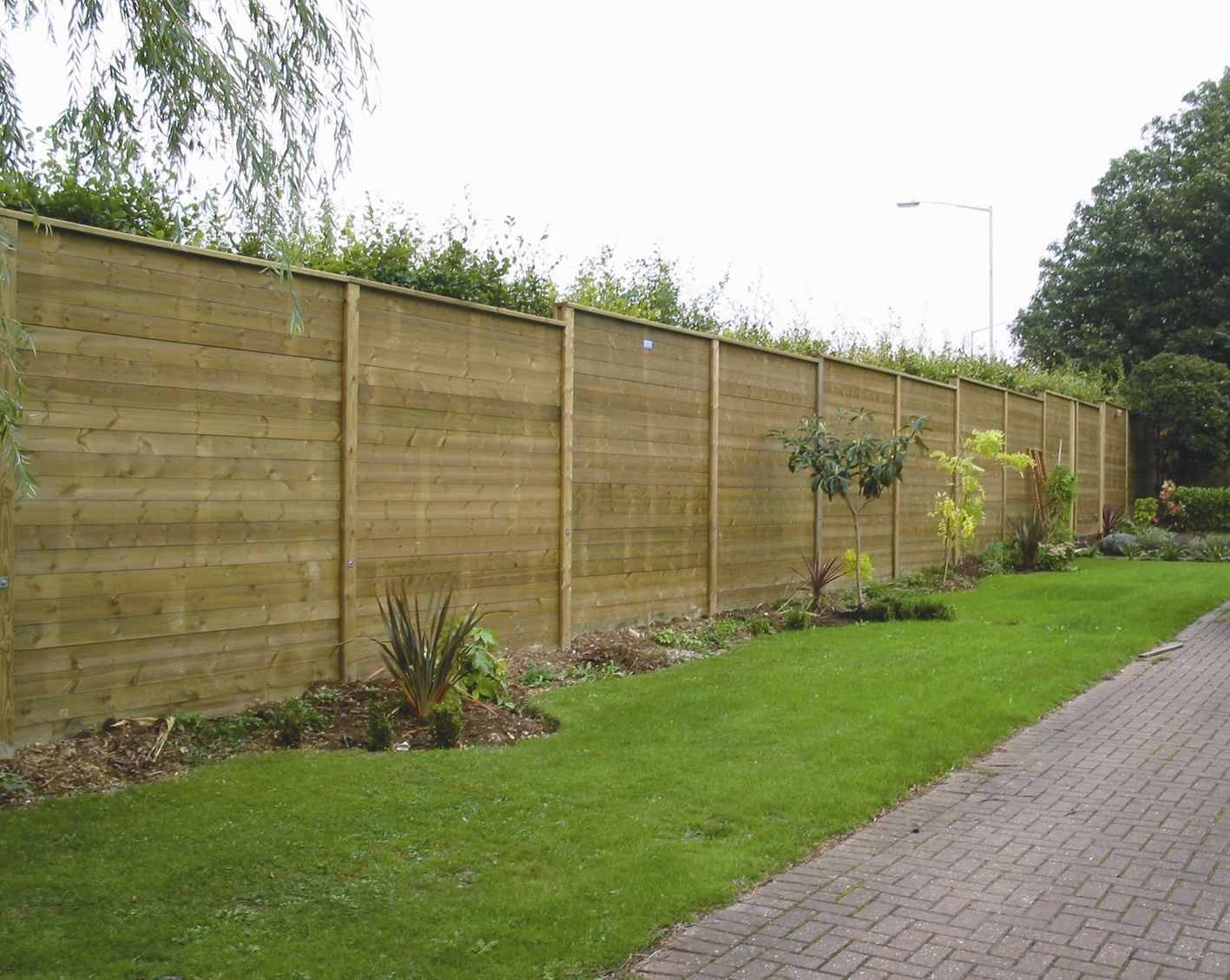 Nice Timber Acoustic Fencing #soundproofing #noise #barrier