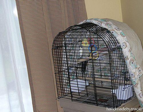 Handmade Bird Cage Cover Bird Cage Covers Diy Bird Cage Bird Cage