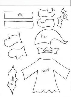 Elf Clothing Template