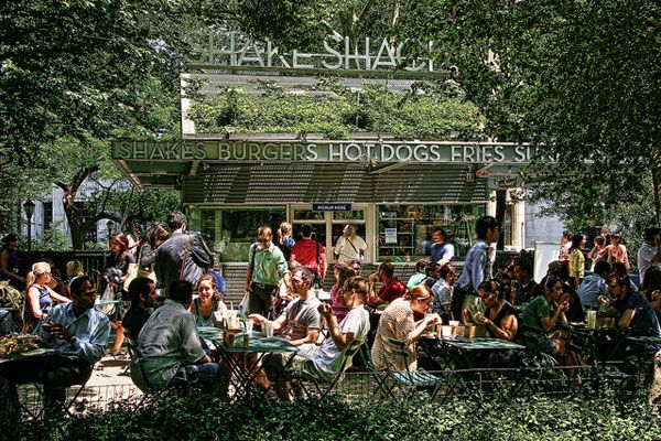 shake shack on madison...the best burgers and shakes on the planet