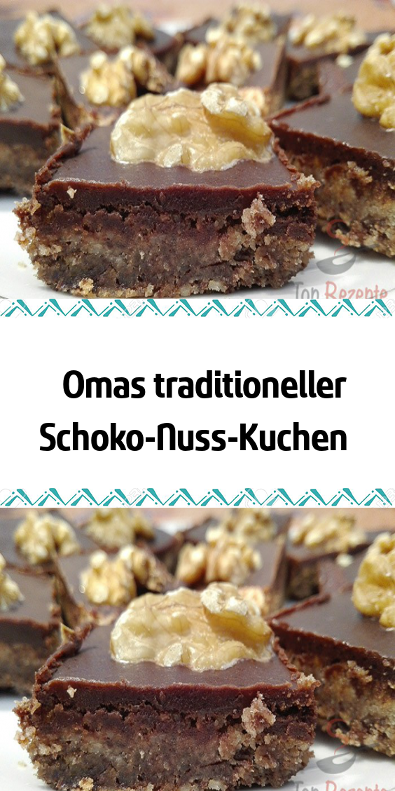 Photo of Grandma's traditional chocolate nut cake