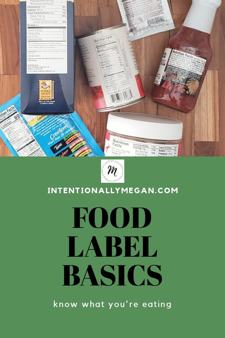 Food Label Basics Know What You Re Eating Food Labels Nutrition Facts Eat