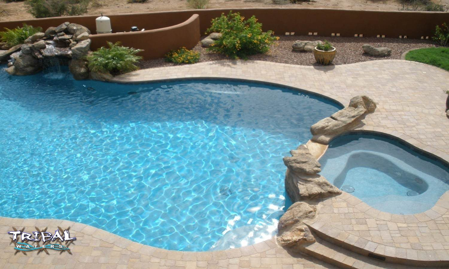 Tribal Waters Custom Pools And Spas Phoenix Arizona