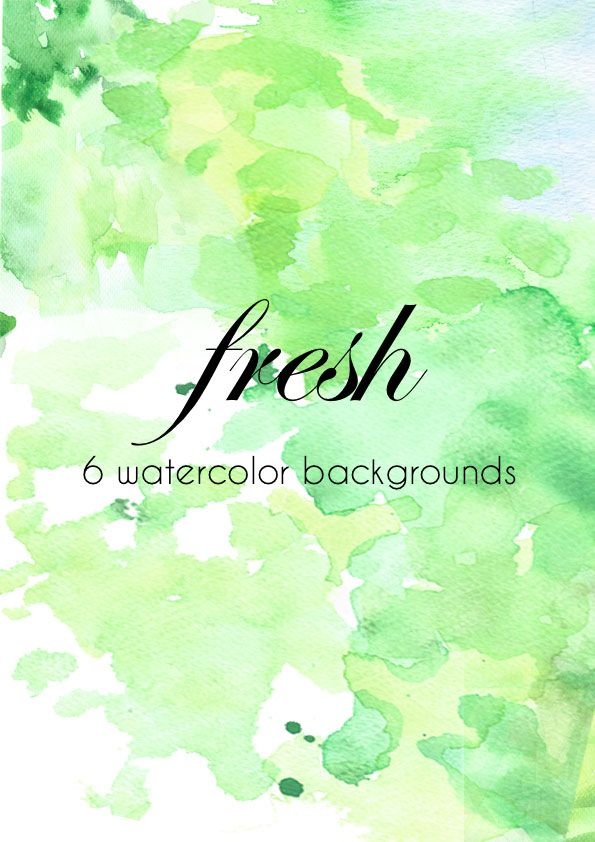 6 FREE WATERCOLOR BACKGROUNDS | textures | Pinterest | Watercolor ...