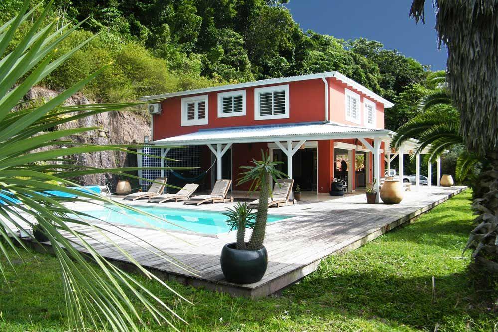 Location villa martinique vue densemble