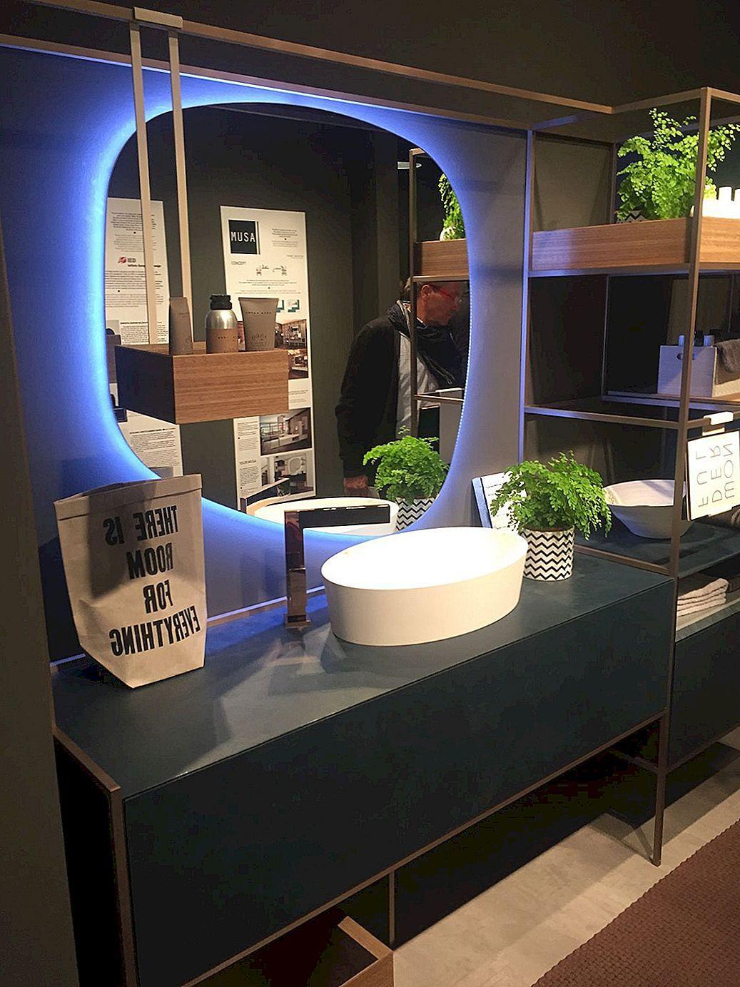 21 Vannitoa Dekoratiivsed Ideed Mis Toovad Valgusele Uusi Kontseptsioone Bathroom Mirror Bathroom Wallpaper Trends Contemporary Bathrooms