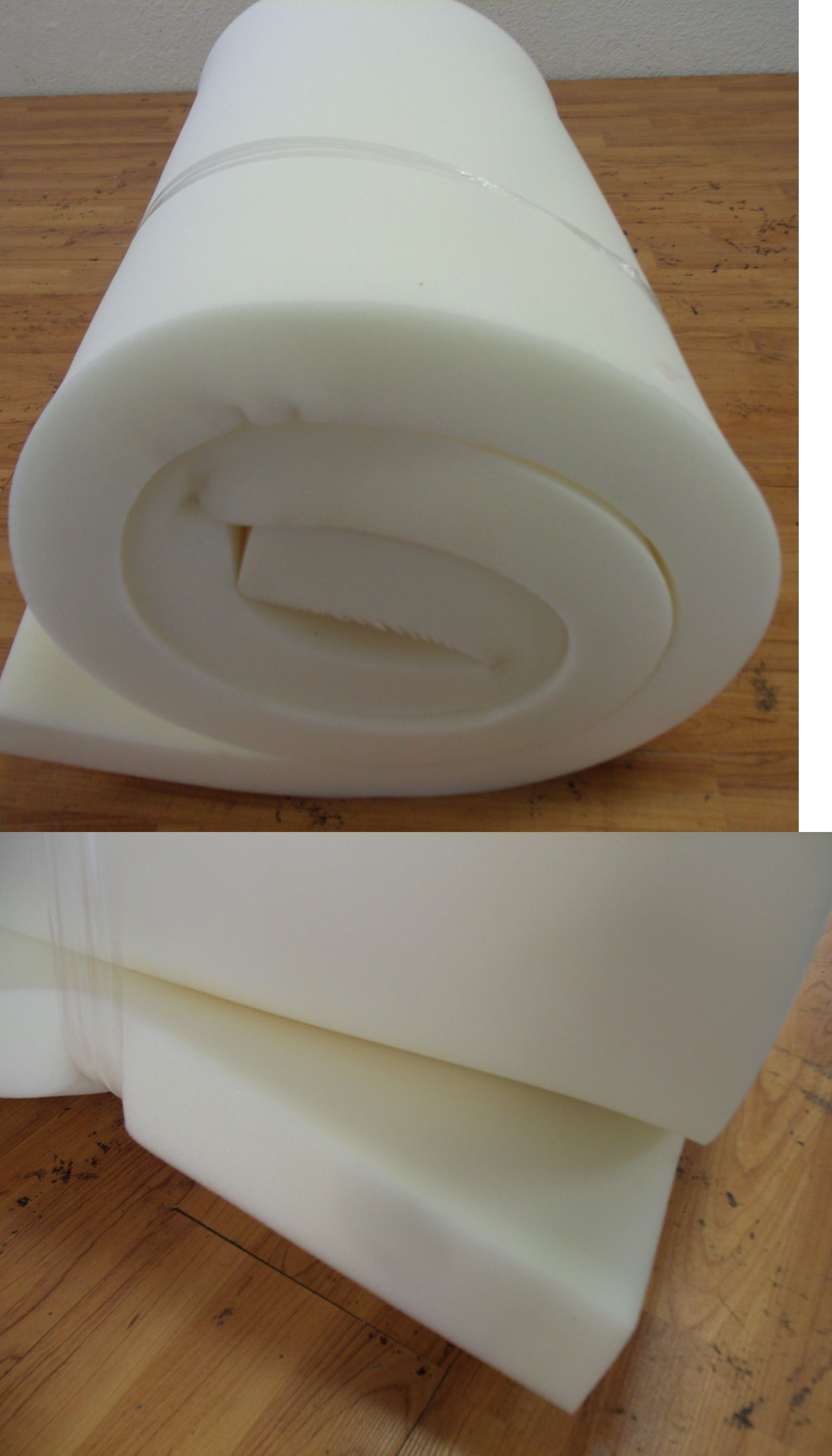 Styrofoam Forms 41200: Foam Med Firm Foam Rubber For Dining Chairs Cushions  And Benches Size