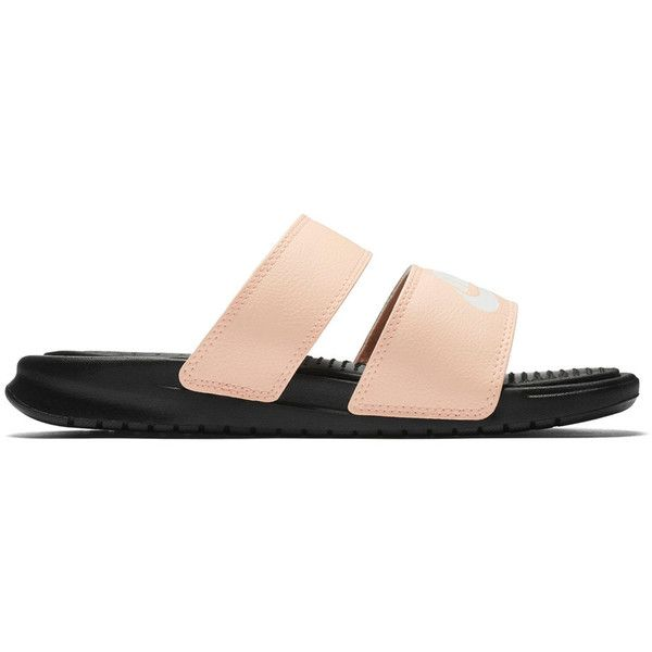 e8fdcfc6f Nike Benassi Duo Ultra Women s Slide Sandals ( 40) ❤ liked on Polyvore  featuring shoes
