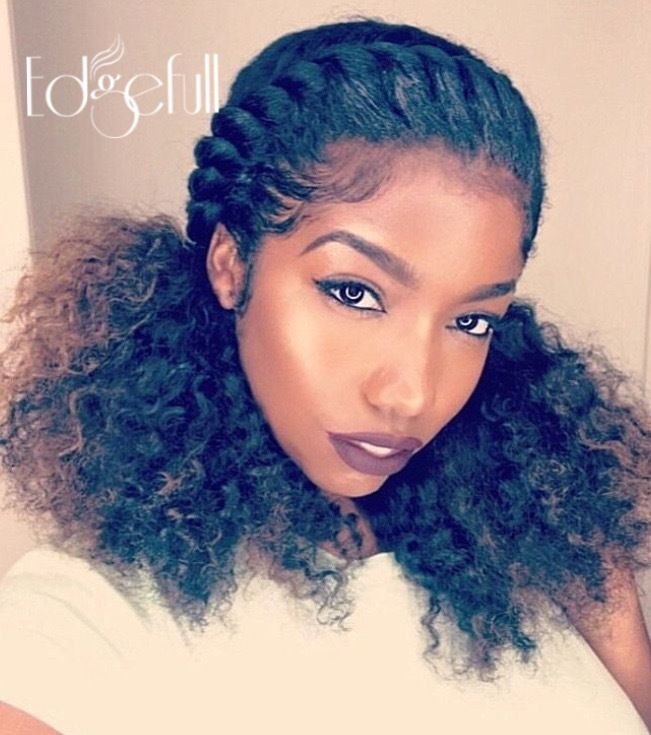 Natural Hairstyles For Thin Edges Amusing Shop Edgefull Have Beautiful Natural Hair But Thinning Edges