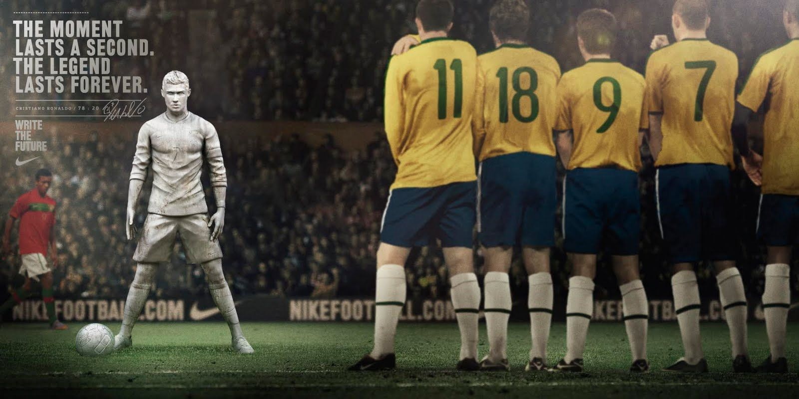 advertising nike write the future Nike china has imagined a future when china is a football superpower in its  players are ranked among the world's best in a new campaign.