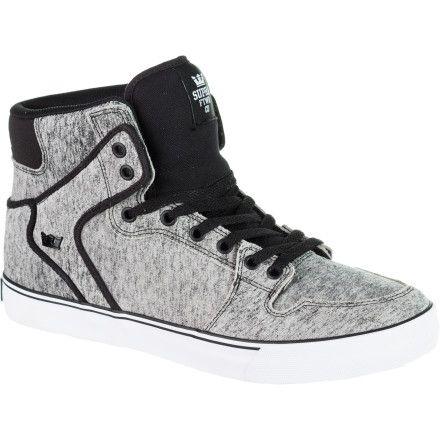 Supra Vaider High Top Skate Shoe Men's | Kleding