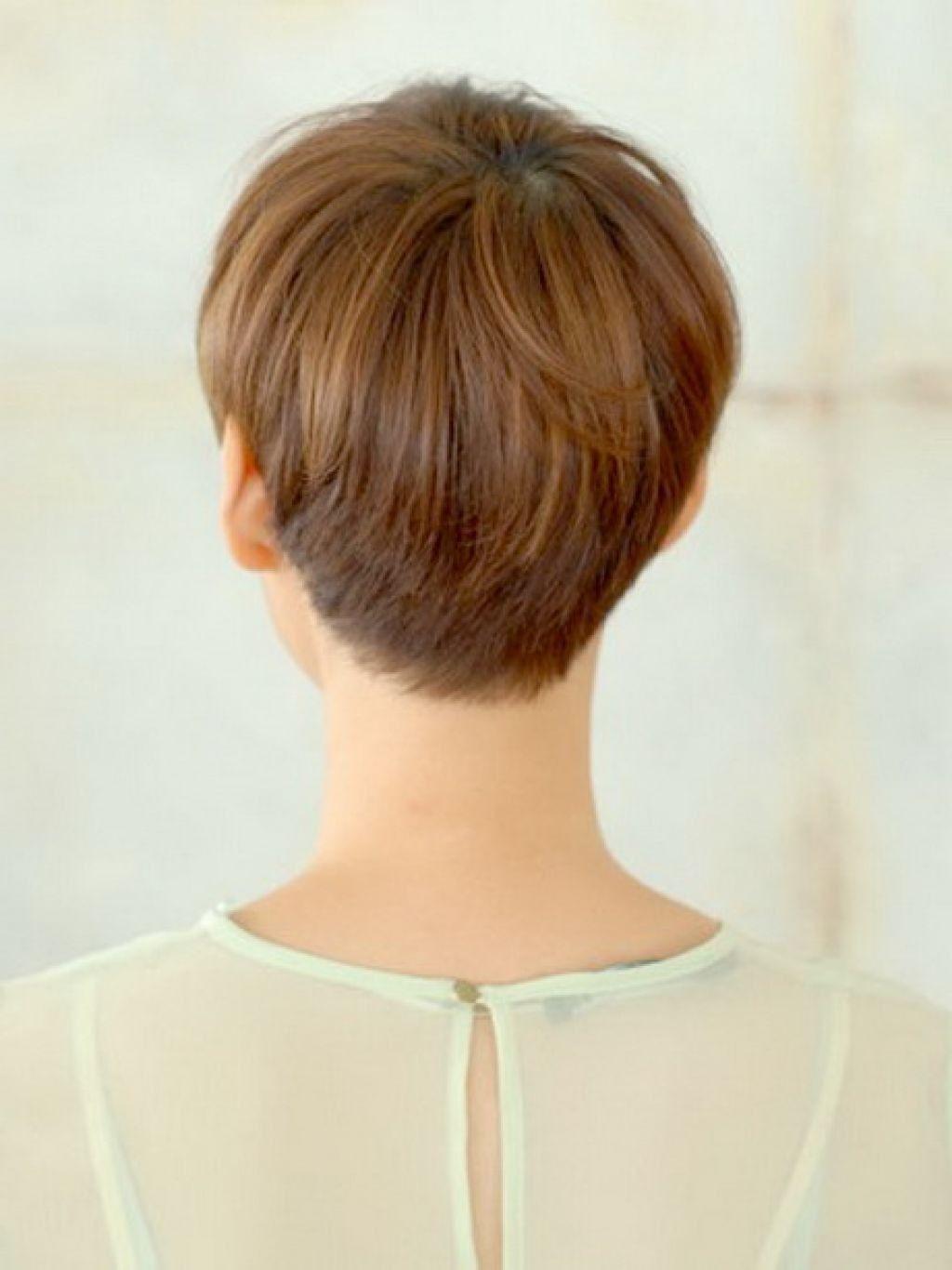 short wedge haircut short wedge haircuts back view