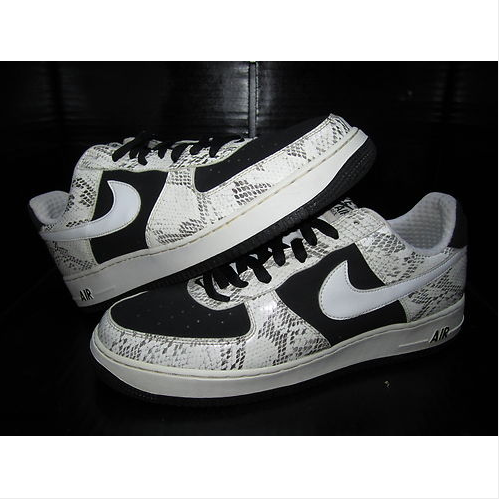 best loved 223db aa348 VNDS Rare NIKE Air Force One AF1 low premium Snake Skin Cocoa SZ 13 Stash  jordan