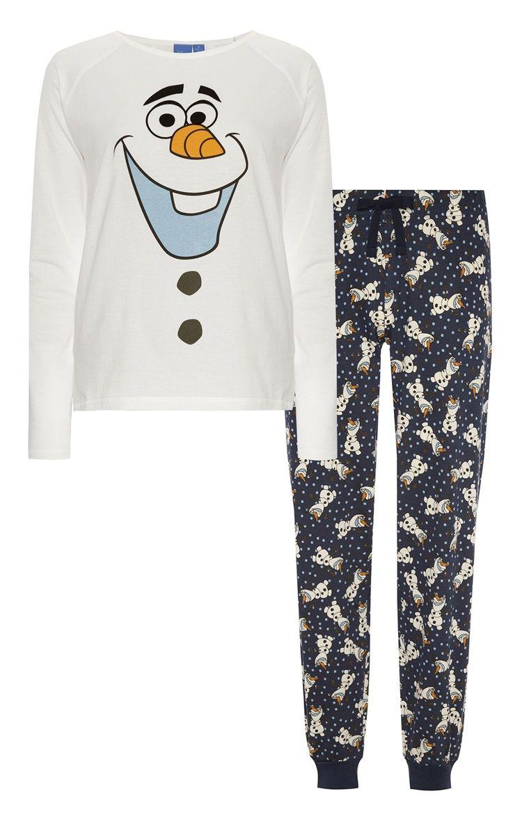 ae953ee467 Pijama con estampado de Olaf de Frozen
