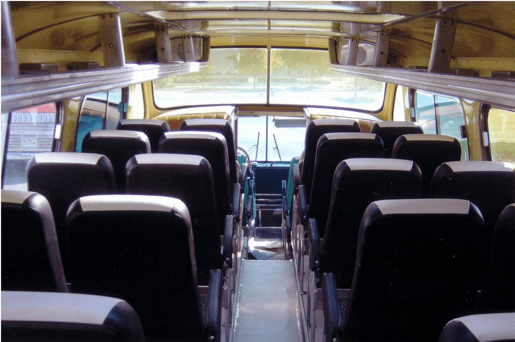 Scenicruiser Int Top A Clic Gmc Bus Interior 1950s Driver