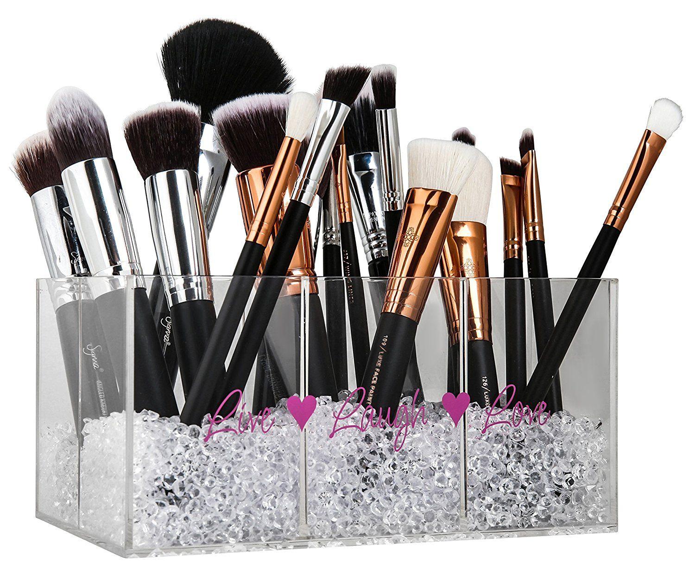 Makeup Brush Holder & Makeup Organizer with