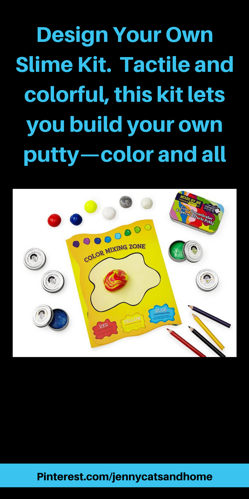 Design Your Own Slime Kit Tactile And Colorful This Kit Lets You