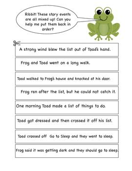 picture relating to Frog and Toad Are Friends Printable Activities called Frog and Toad Alongside one another - Pursuits for A Record Faculty