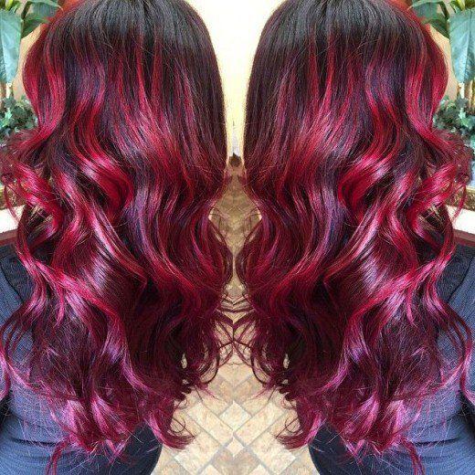 Diy Hair 10 Red Hair Color Ideas Red Ombre Hair Hair Styles Long Hair Styles