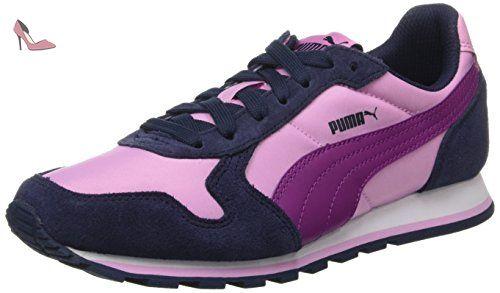St Runner NL, Sneakers Basses Mixte Adulte, Violet (Dark Purple-White), 40.5 EUPuma