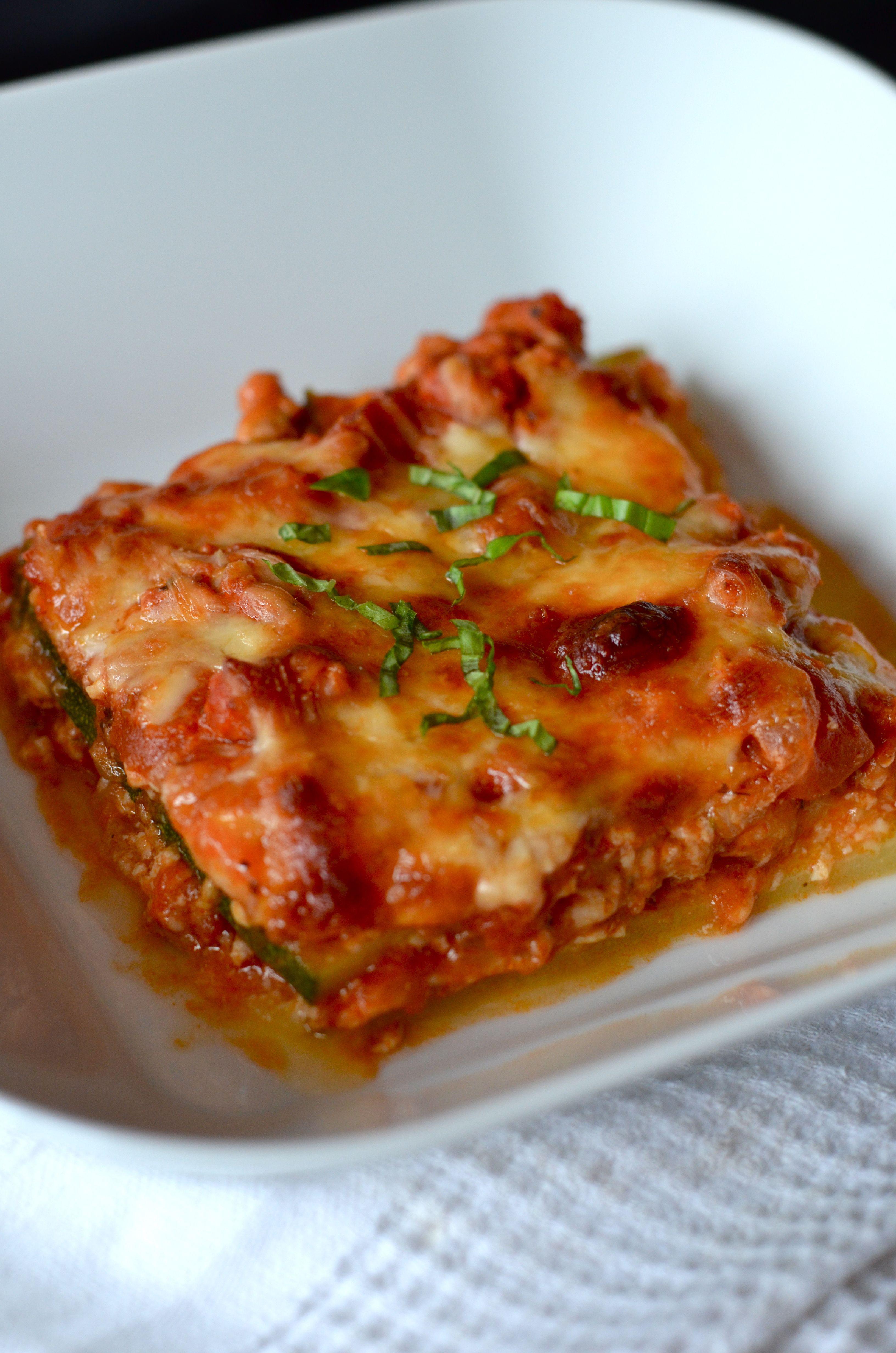 Zucchini Lasagna (no noodle) Lasagna, Zucchini lasagna