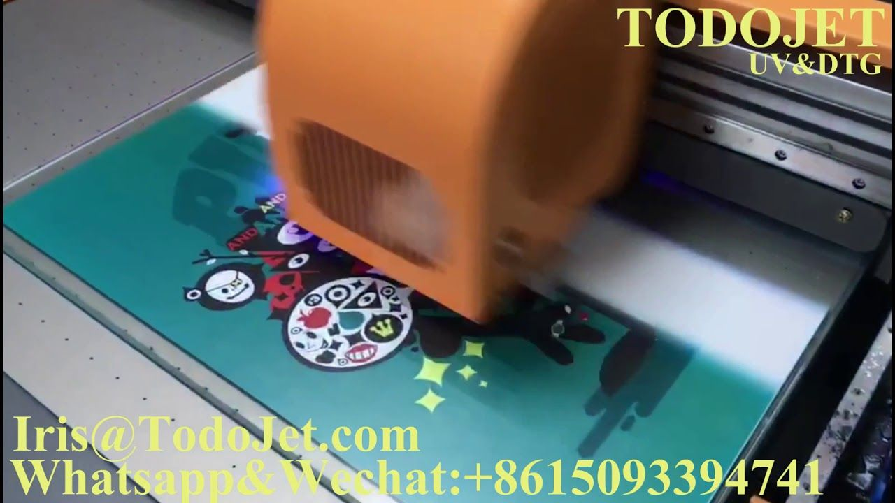 TODOJet 60*90cm UV Flatbed Printer with Epson XP600/XP800