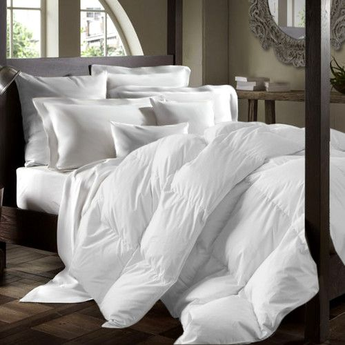 Drift To Sleep In Plush Comfort And Warmth With This Premium White Duck Down  Duvet Comforter, Suitable For Chilly Nights. The Blanket Features Baffle  Box ...