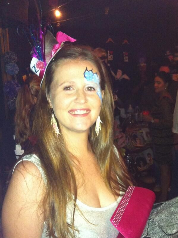 'Party time! at Madame Zingara's Theater of Dreams!'