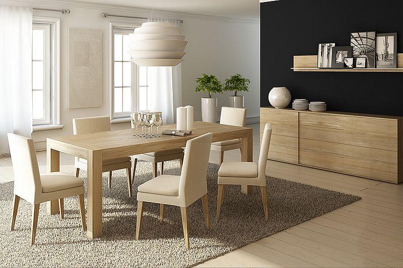Stół rozkładany BLOX. Wymiary: 200x90x76cm. Kolor: Natural. Miloni.pl